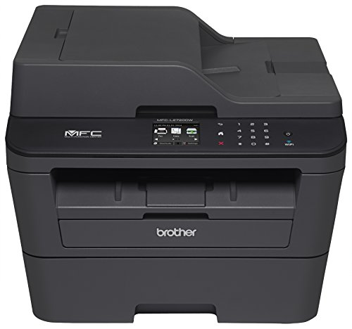 Brother Printer MFCL2720DW Compact Laser All-In One with Wireless Networking and Duplex Printing, Amazon Certified for Auto Replenishment with Dash (Brother Laser Printer All In One compare prices)
