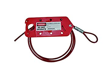 Oberon LOTO-CBL6FT Cable Lockout, 6', Red: Amazon.com: Industrial