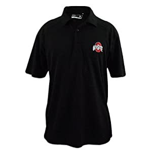 Ohio State Buckeyes Cutter and Buck Drytec Genre Polo by Cutter & Buck