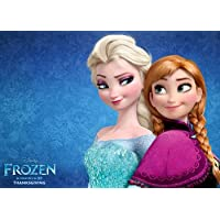 ポスター A4 パターンAA アナと雪の女王 光沢プリント