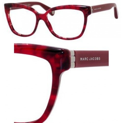 Marc Jacobs Marc Jacobs MJ482 Eyeglasses-0BVR Havana Red-54mm