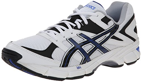 ASICS Men's Gel-190 TR Training Shoe, White/Navy/Royal, 10.5 M US