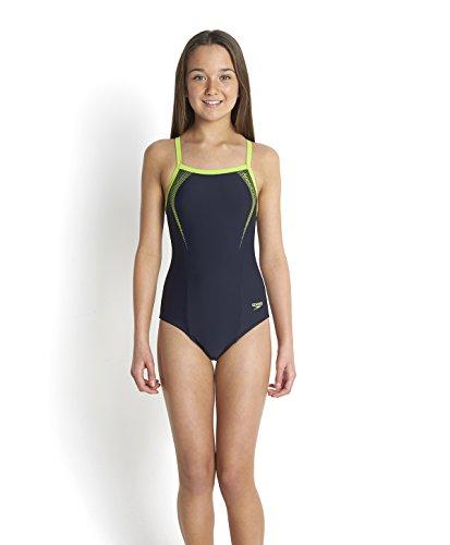 speedo-madchen-sports-logo-thinstrap-muscleback-badeanzug-speedo-navy-citrus-green-140