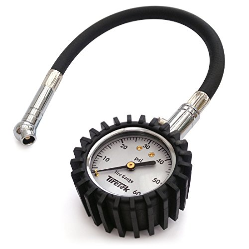 tiretek flexi pro tire pressure gauge heavy duty best for car motorcycle ebay. Black Bedroom Furniture Sets. Home Design Ideas