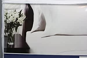 Divatex Luxury Weight Bedding Tranquil Nights White Color Queen 6 Piece Sheet Set