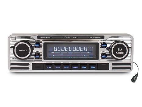 Caliber RCD120BT Autoradio CD/DVD Argent
