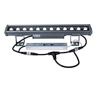 inkl Lampe Brilliant Tanko 400W Wandstrahler grau Außenleuchte Wandleuchte