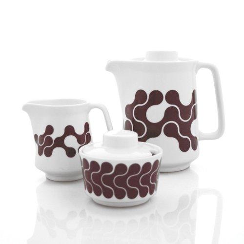 Brown Links Coffee Serving Set