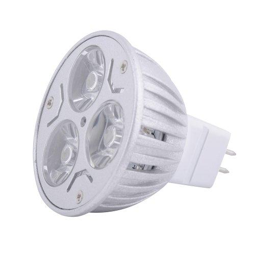 3W Mr16 Home Indoor Led Downlight Bulb Warm White Lamp Spot Light 12V Power.