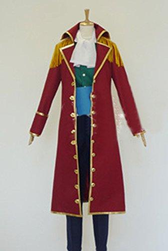 [Relaxcos One Piece Nico·Robin Cosplay Costume] (Nico Robin Cosplay Costume)