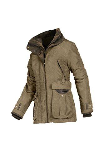 baleno-womens-sheringham-hunting-jacket-light-kakki-small
