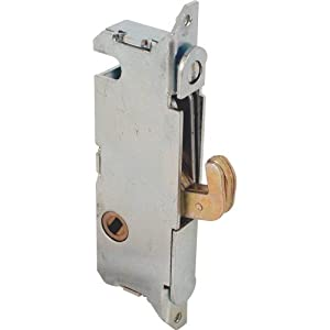 Prime-Line Products E 2014 Sliding Door Round Face Mortise Lock with 45-Degree Keyway
