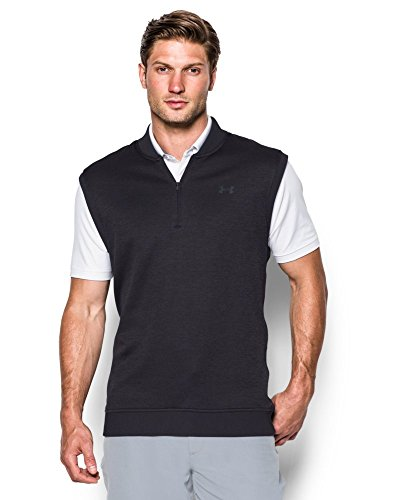 Under Armour Men's Storm SweaterFleece Vest, Asphalt Heather (005), Small