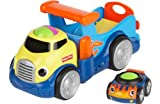 [HSB] Fisher-Price Roll 'n' Racers Rockin' Roll Truck with Pack of 10 Safety Door Stoppers