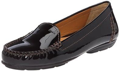 Geox Women's D Italy B Black Moccasins D24Q1B66C9999 3 UK, 36 EU