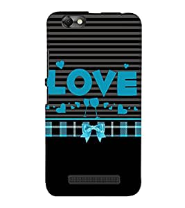 Love is Where You Party 3D Hard Polycarbonate Designer Back Case Cover for Lenovo A2020