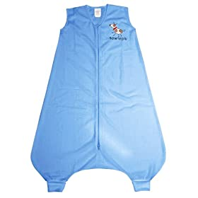 Halo Innovations Early Walker SleepSack Wearable Blanket Comfort Mesh, Blue Dog, LargeHalo Innovations Early Walker SleepSack Wearable Blanket Comfort Mesh