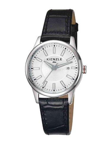 Kienzle - K3042011021-00031 - Montre Femme - Quartz Analogique - Bracelet Cuir Noir