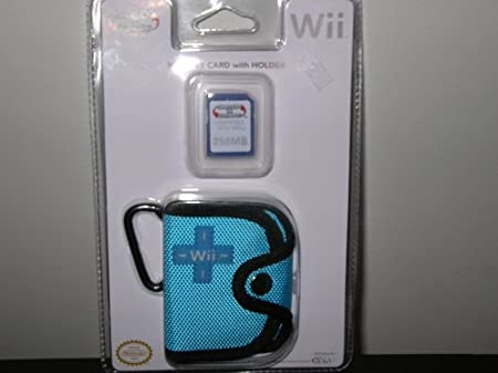 NINTENDO WII MEMORY CARD WITH HOLDER
