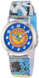Nickelodeon Sponge Bob Kids' SBPKQ743 Time Teacher Watch