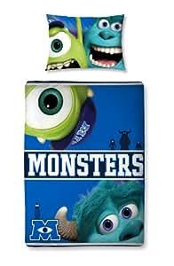 Character World 125 x 150 cm Disney Monsters University Junior Panel Duvet Set, Multi-Color