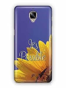 YuBingo It's Possible Designer Mobile Case Back Cover for OnePlus 3