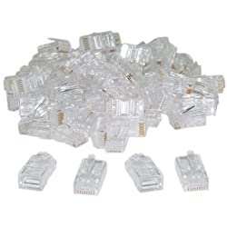 Professional Quality RJ45 Module Plugs pack of 100