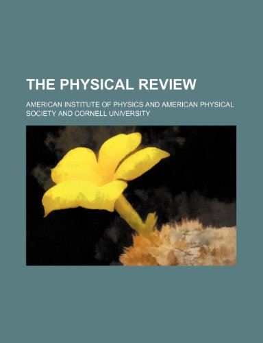 The physical review