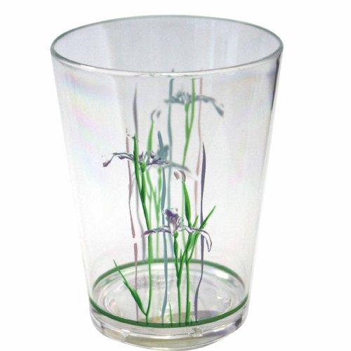 Corelle Coordinates Shadow Iris 8-Ounce Acrylic Glass, Set of 6