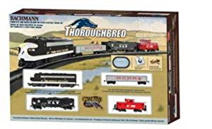 Bachmann Trains Thoroughbred Ready-to-Run HO Scale Train Set by Bachmann Industries Inc.