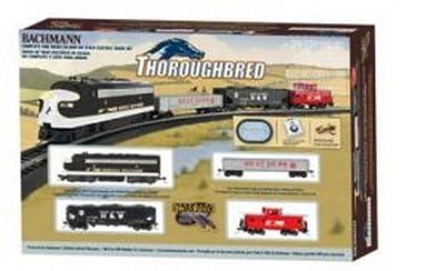 Bachmann Trains Thoroughbred Ready-to-Run HO Scale Train Set from Bachmann Industries Inc.