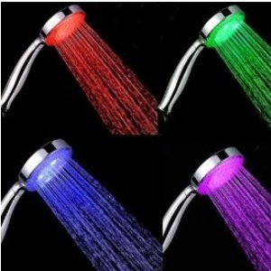 Why Choose The Faucetland 004002340 7 Color LED Lights Shower Head Bathroom Showerheads