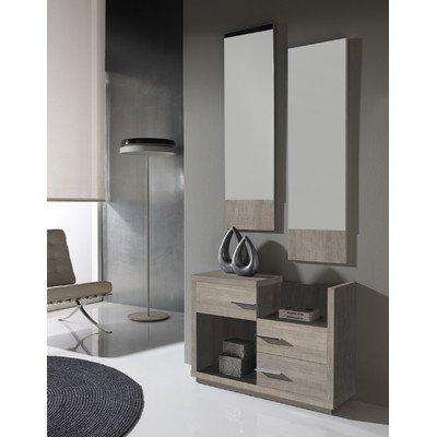3-tlg. Garderoben-Set Farbe: Eco