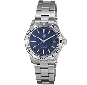 TAG Heuer Men's WAP1112.BA0831 Aquaracer Stainless Steel Blue Dial Watc