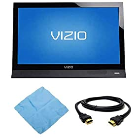 Vizio 26 Inch Razor 60HZ LED LCD HDTV Model M260VA Plus Accessory Bundle