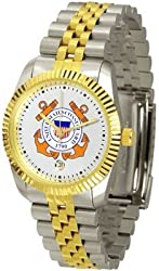 US Coast Guard Suntime Mens Executive Watch - NCAA College Athletics