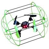 ラジコン ドローン 3WAYアクション 4CH対応 2.4GHz 『SKY WALKER』 (OA-3250) (グリーン) OnSUPPLY OA-3250