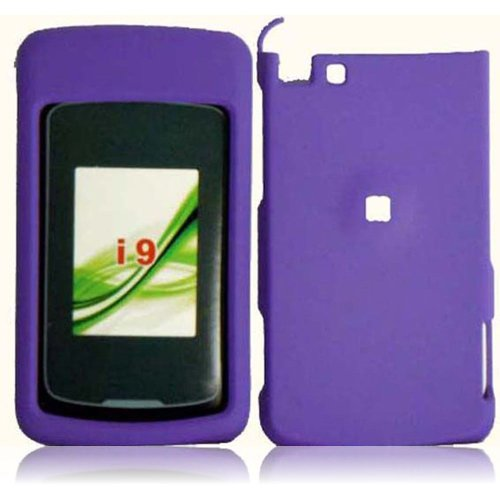 Cell Accessories For Less (Tm) For Motorola Stature I9 Rubberized Cover Case - Dark Purple - By Thetargetbuys *Free Shipping*
