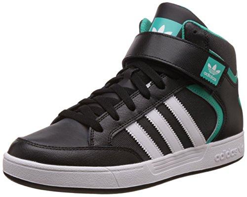 adidas - Varial MID, Scarpe da skate Uomo, Nero (Core Black/Ftwr White/Shock Mint), 44 EU