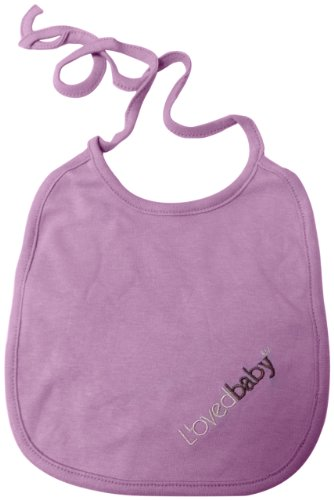L'ovedbaby Reversible Bib, Lavender