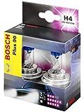 Bosch Autolampenset H4 Plus +90, Doppelbox