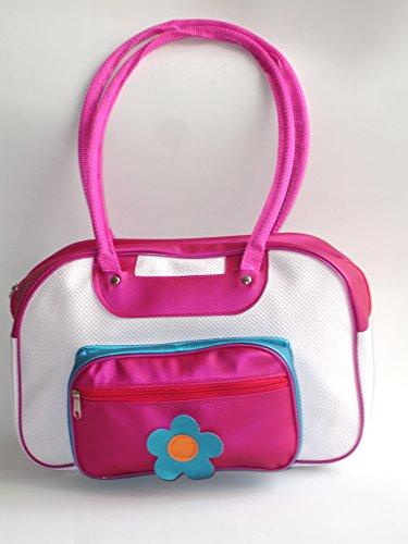 Flower Pink Handbag