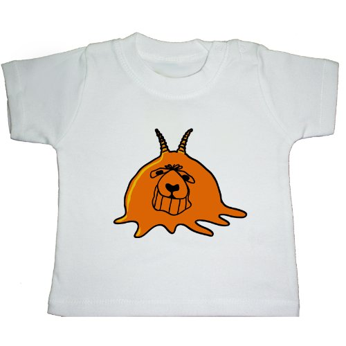 MELTING SPACEHOPPER, 1970, 1980s childrens retro toy baby t-shirt