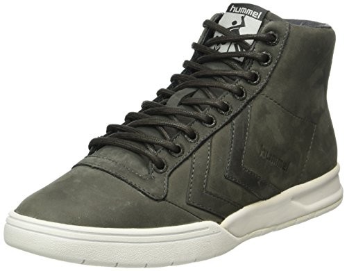 hummel Hml Stadil Winter High Sneaker, Scarpe da Ginnastica Alte Unisex - Adulto, Grigio (Beluga), 40 EU