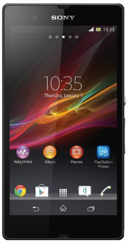 Sony Xperia Z Smartphone Google Android 4.1 (JB) Mémoire interne 16 Go Noir