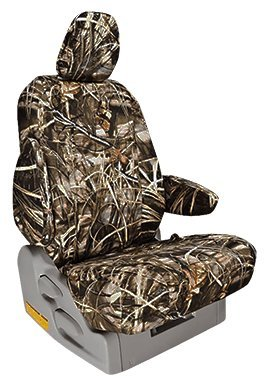 Custom Fit Ford F250 Seat Covers (2011-2013) Front Seat Set - in Realtree Max-4 print - Buckets w/ Adjustable Headrests (Camo Seat Cover Set For Ford F250 compare prices)