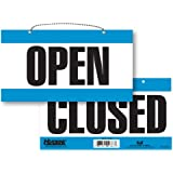 Headline Sign 9384 Double-Sided Open/Closed Sign, 6 Inches by 11 Inches