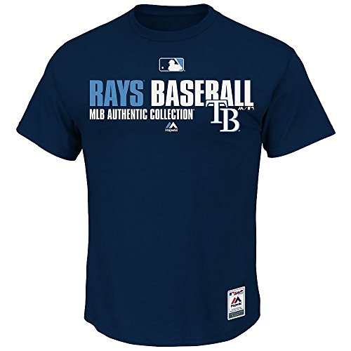 Tampa Bay Rays MLB Majestic AC Team Favorite Men's Tee, S