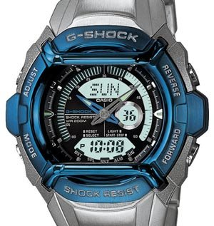 CASIO MEN'S BLUE ANA-DIGI G-SHOCK W/METAL BAND - G540D-2AV - Buy CASIO MEN'S BLUE ANA-DIGI G-SHOCK W/METAL BAND - G540D-2AV - Purchase CASIO MEN'S BLUE ANA-DIGI G-SHOCK W/METAL BAND - G540D-2AV (Casio, Jewelry, Categories, Watches, Men's Watches, Casual Watches)