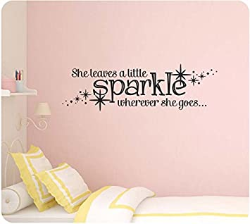 photo about She Leaves a Little Sparkle Wherever She Goes Free Printable named She Leaves A Minor Sparkle Any where She Goes Absolutely free Printable